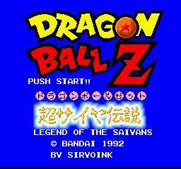 Klepto Software's Dragon Ball Z Translation